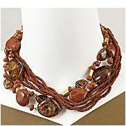 JCPenny Worthington® 8 Row Multi Beaded Necklace $18.99