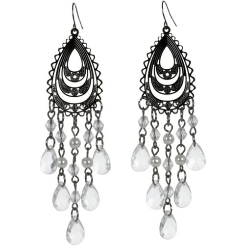 Charlotte Russe  Teardrop Filigree Earrings: $4.00