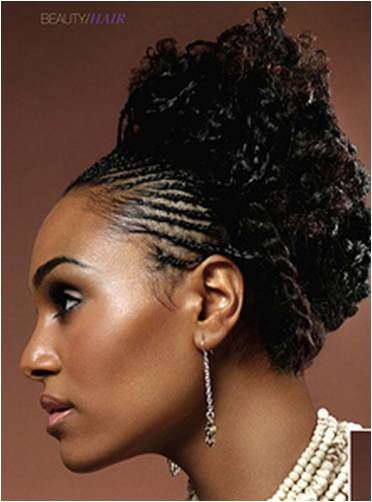 pictures of cornrow hairstyles. This is a classic cornrow hairstyle to me. It can go from fun to elegant