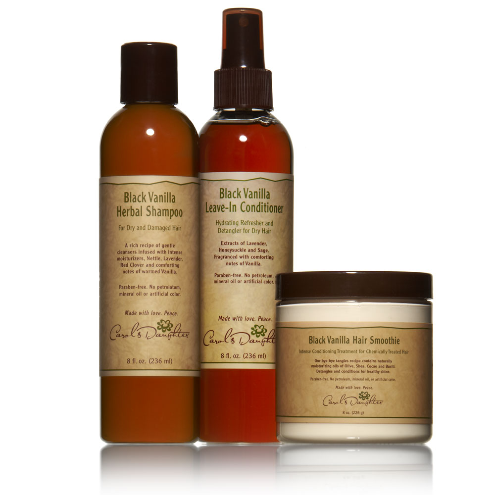 Relaxed Hair Natural Products