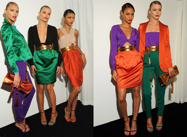 Color Blocking Trend 2011