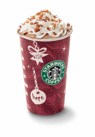 Starbucks Eggnog Latte
