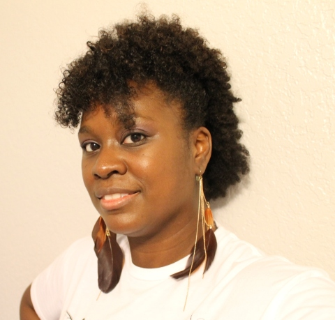 natural hair faux hawk