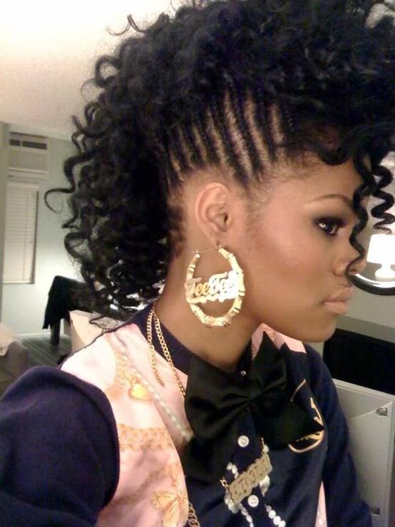 Black Braided Hairstyles Natural Hair
