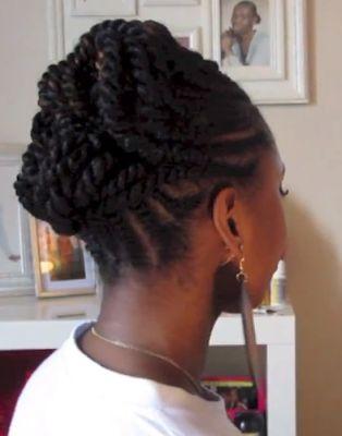 Natural Hair Updos For Black Hair