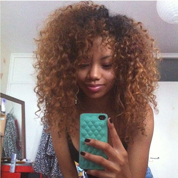 Fierce Natural  Hair  Long and Curly Fierce