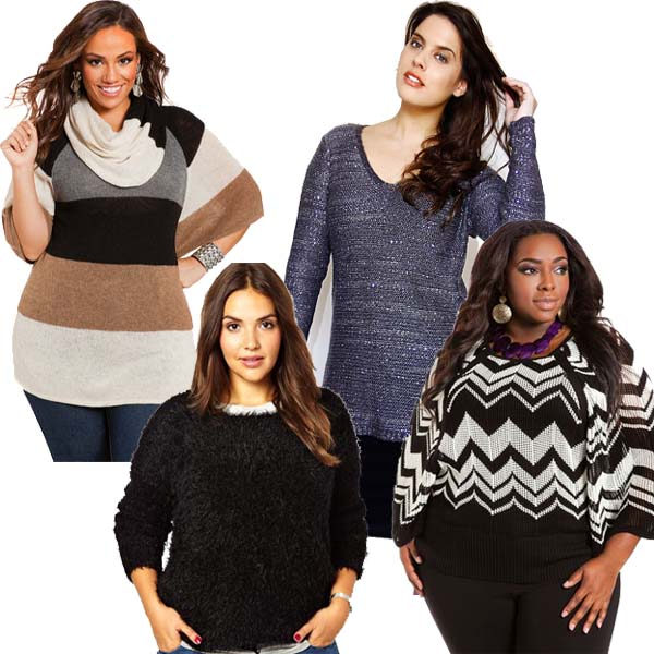What S Hot In Plus Size Winter Fashion Fierce